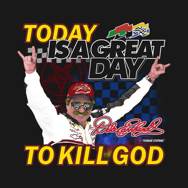 TeePublic: Earn hard Kill God