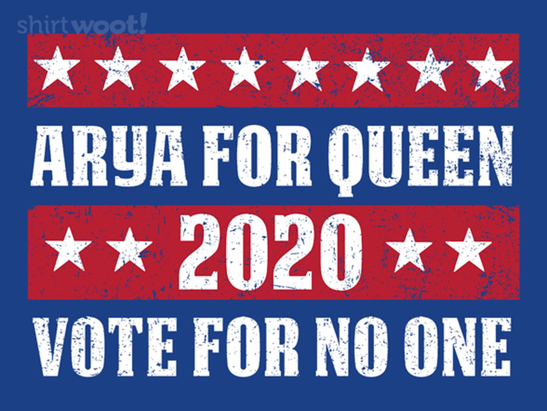 Woot!: Arya 2020