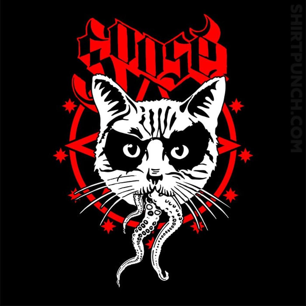 ShirtPunch: Black Metal Cat
