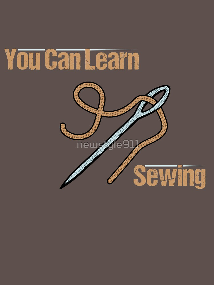 RedBubble: You Can Learn Sewing
