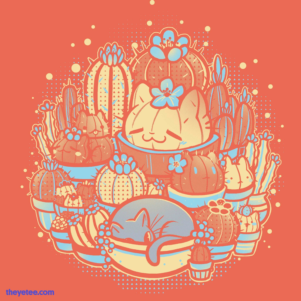 The Yetee: Terracatta Cactus