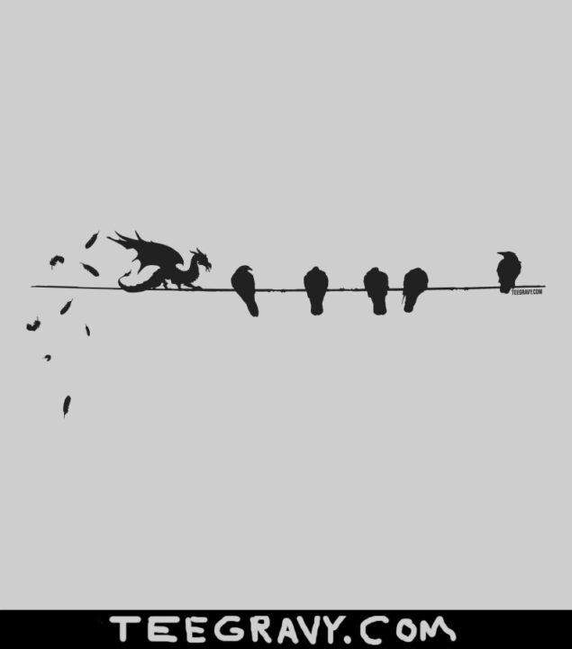 Tee Gravy: Bird on a Wire