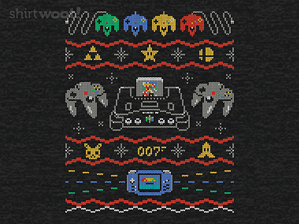 Woot!: Ugly Gaming Sweater 64