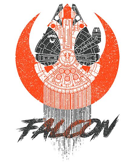 Qwertee: Falcon