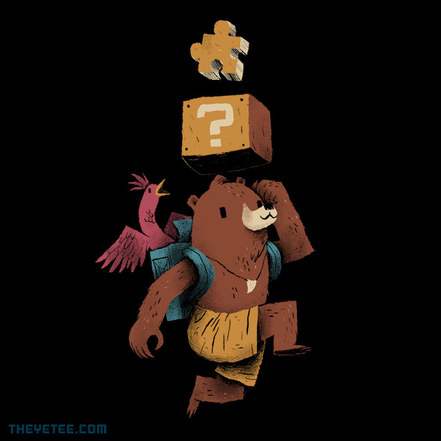 The Yetee: jiggy power up