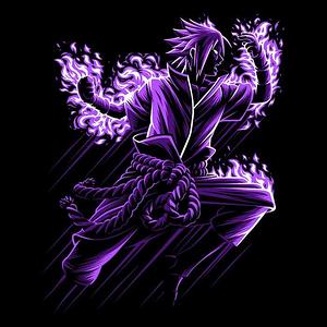 Once Upon a Tee: Sasuke Attack