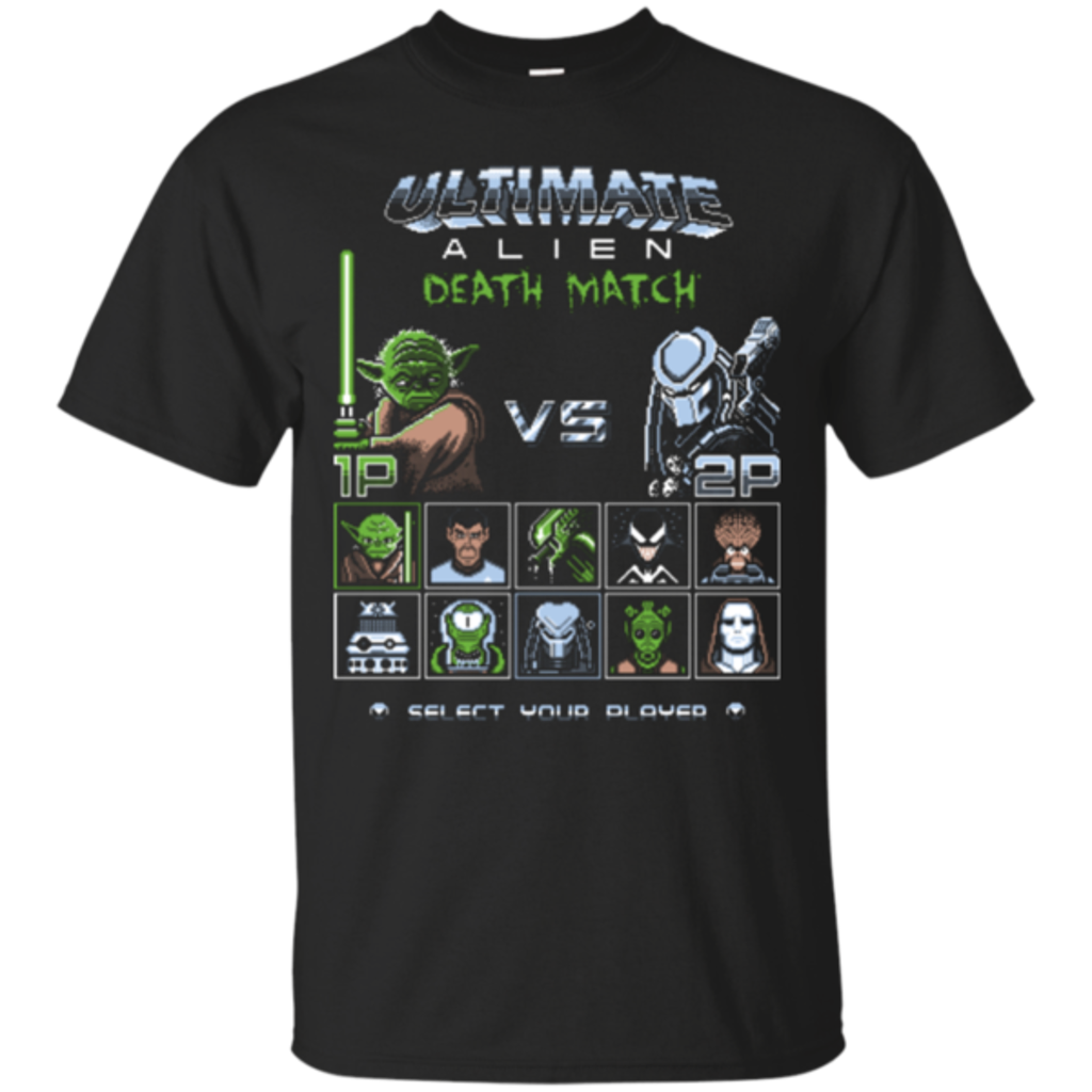 Pop-Up Tee: Ultimate Alien Deathmatch