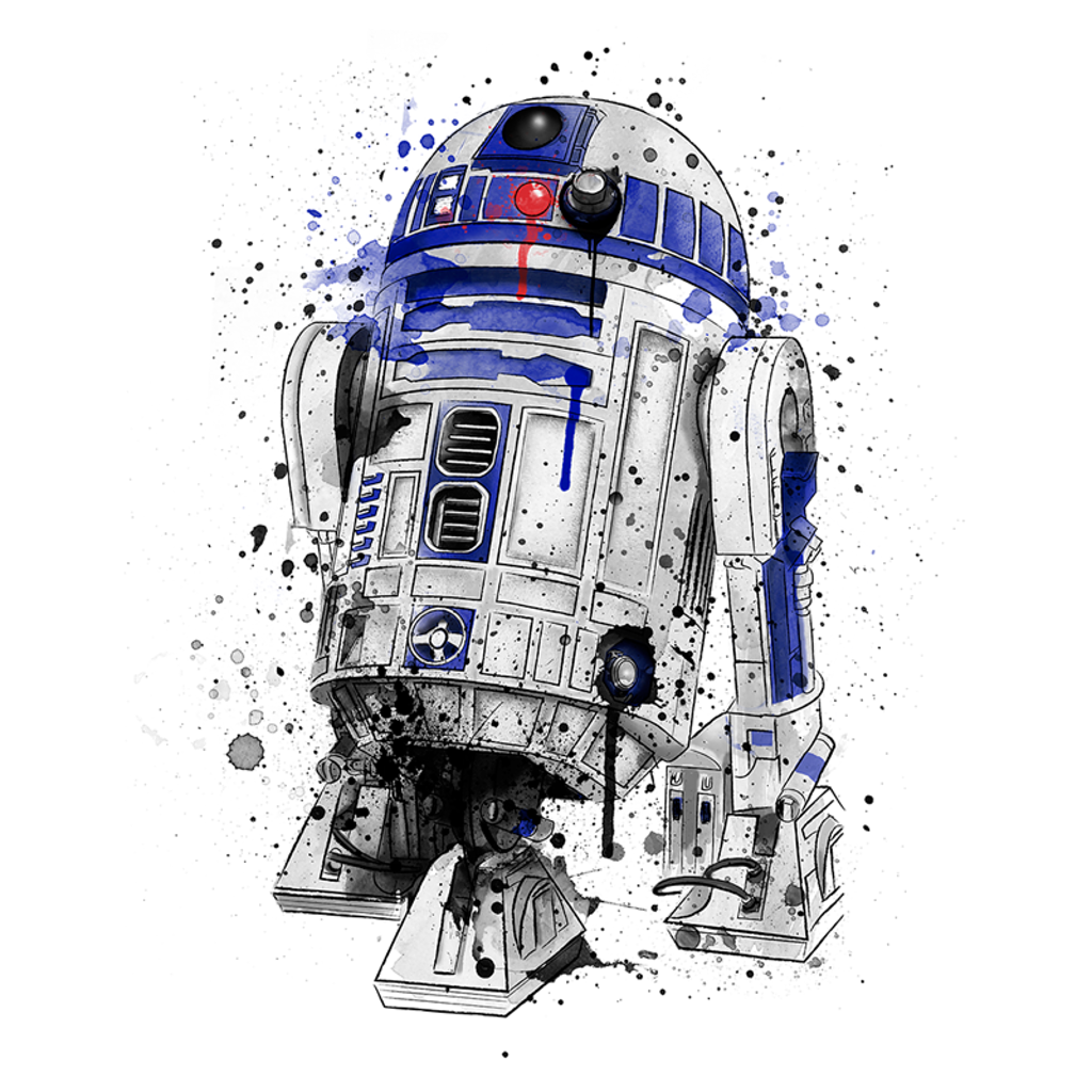 Wistitee: Droid Watercolor