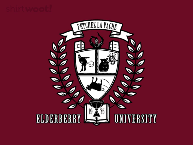 Woot!: Elderberry University - $15.00 + Free shipping