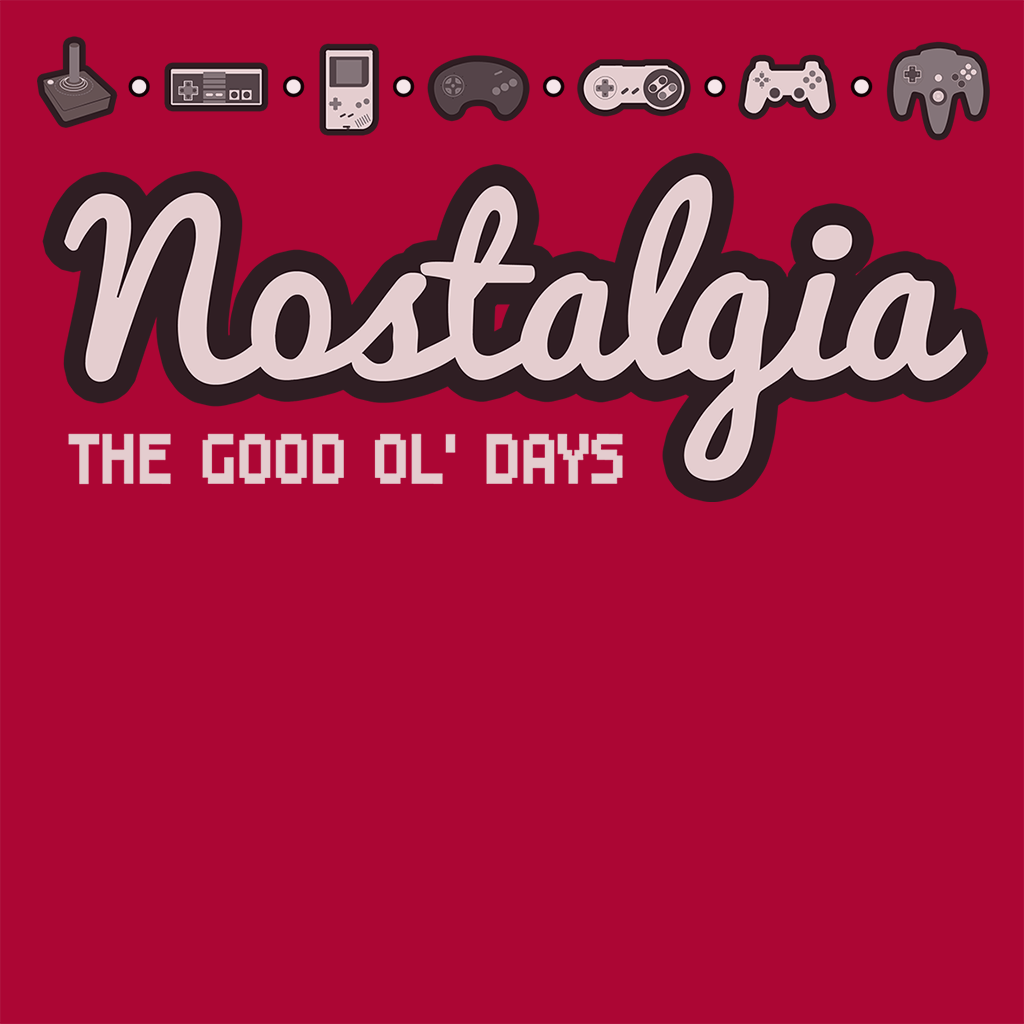 Pop-Up Tee: Nostalgia
