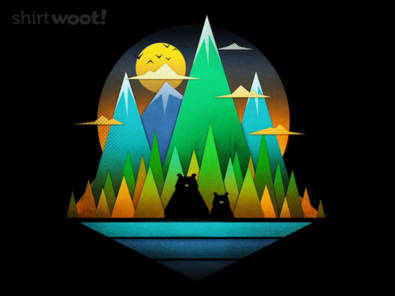 Woot!: Geometric Landscape Bears
