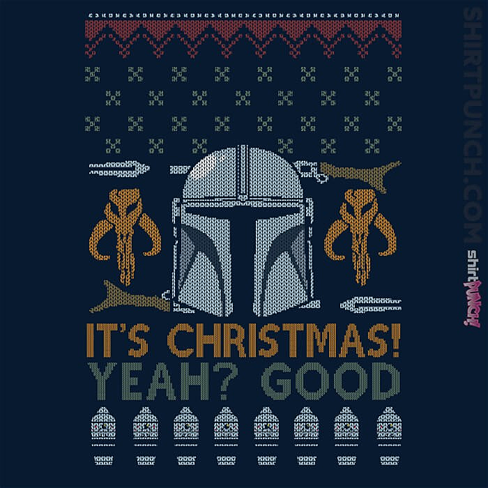 ShirtPunch: Mandalorian Christmas