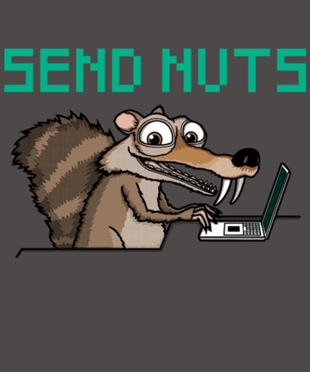 Qwertee: Send Nuts!