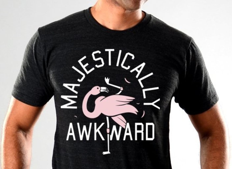 SnorgTees: Majestically Awkward Limited Edition Tri-Blend