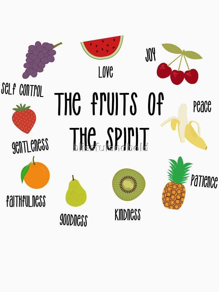 RedBubble: Fruits of the Spirit