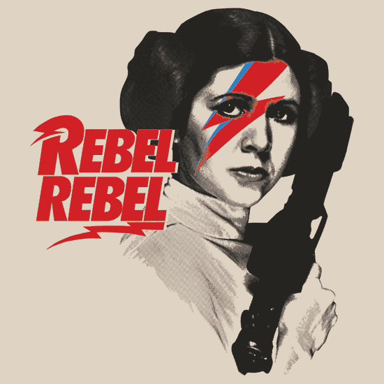 Textual Tees: Rebel Rebel