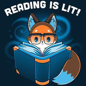 TeeTurtle: Reading Is Lit