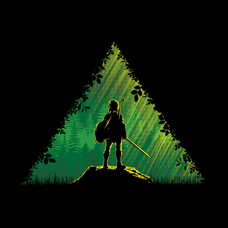 Pampling: Link in a Forest