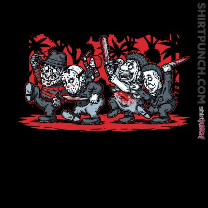 ShirtPunch: Where the Slashers Are