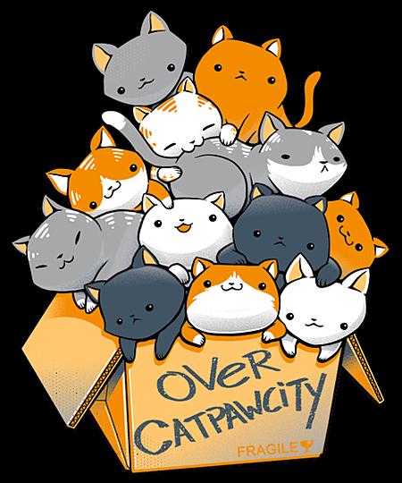 Qwertee: Over Catpawcity