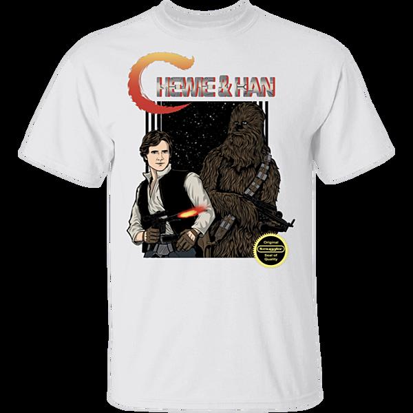 Pop-Up Tee: Chewie & Han
