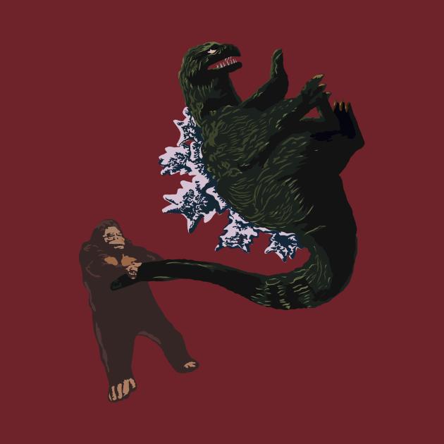 TeePublic: King Kong vs Godzilla