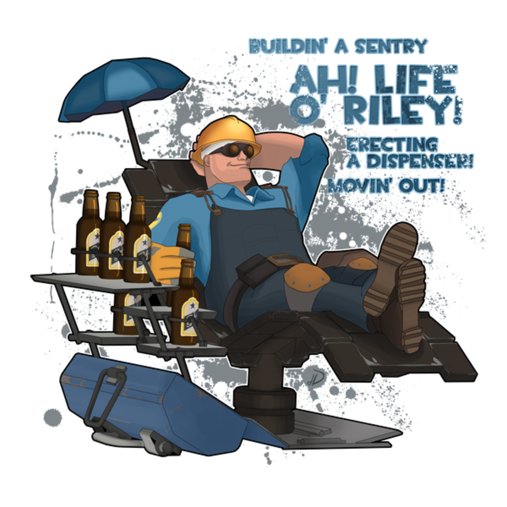 NeatoShop: Blue Engineer - Team Fortress 2