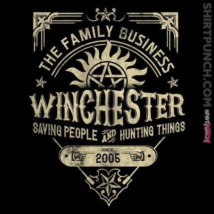 ShirtPunch: A Very Winchester Business