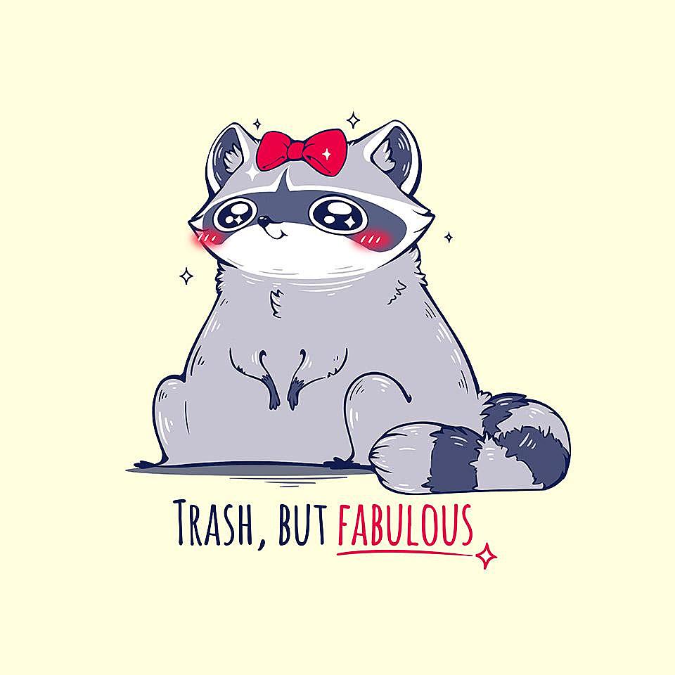 TeeFury: Trash But Fabulous