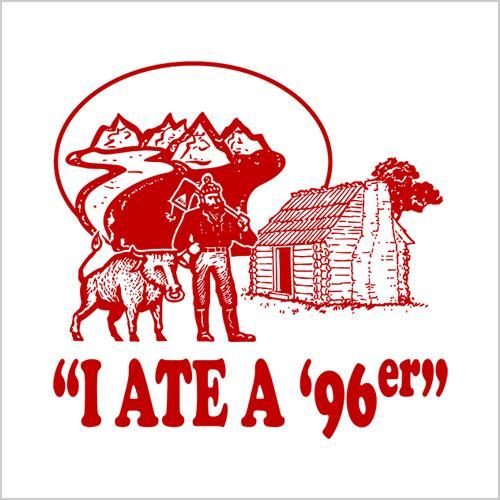 Five Finger Tees: I Ate A '96er T-Shirt