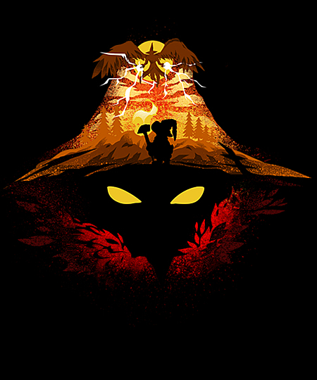 Qwertee: Black Mage Fight!