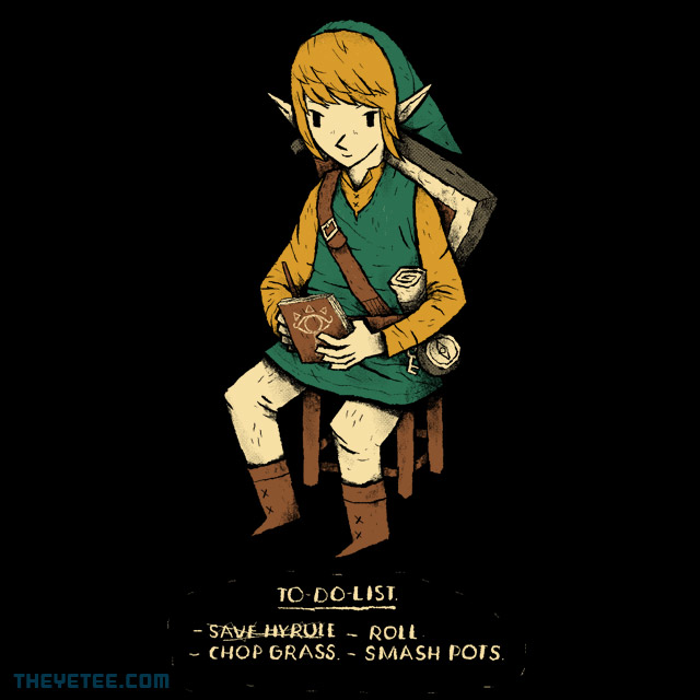 The Yetee: link to-do-list