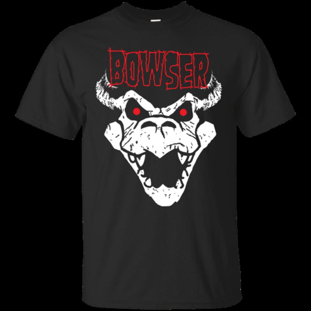 Pop-Up Tee: Bowser