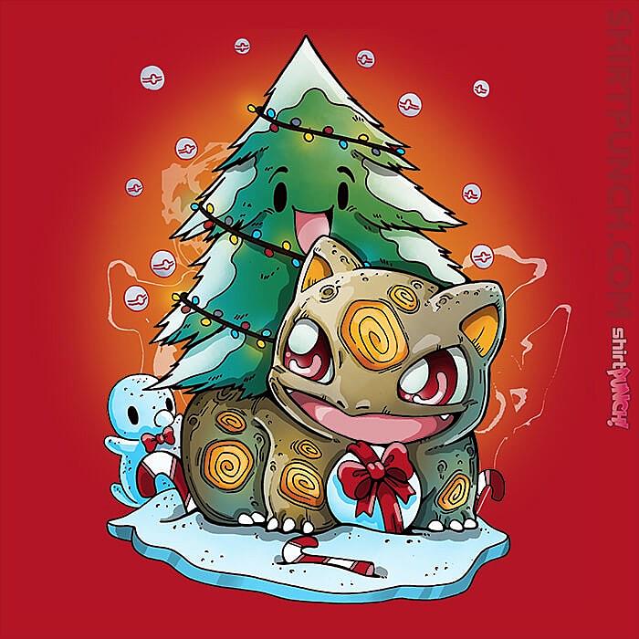 ShirtPunch: Bulby Christmas