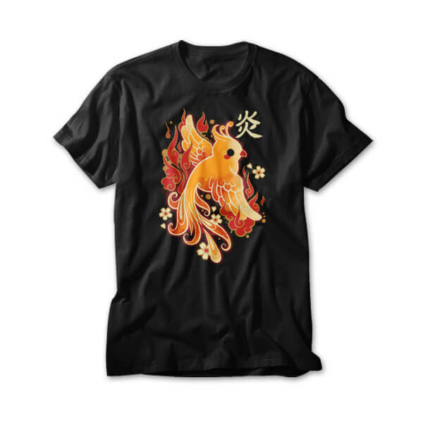OtherTees: Phoenix kawaii
