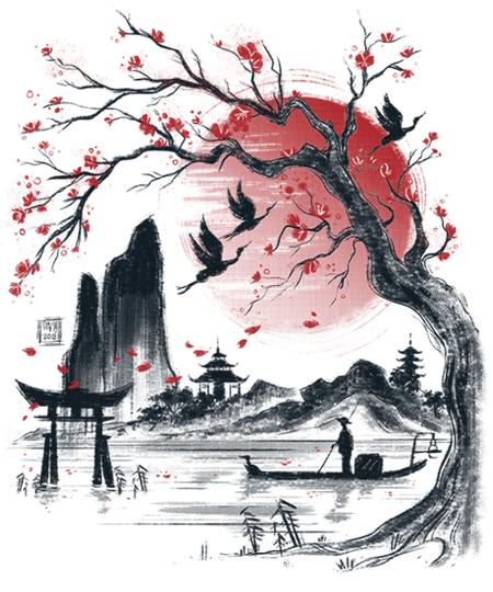 Qwertee: Japan dream