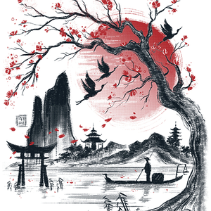 Qwertee: Japan dream