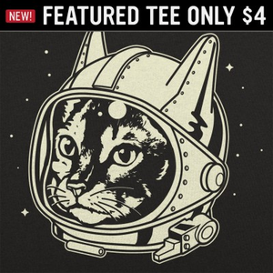 6 Dollar Shirts: AstroCat