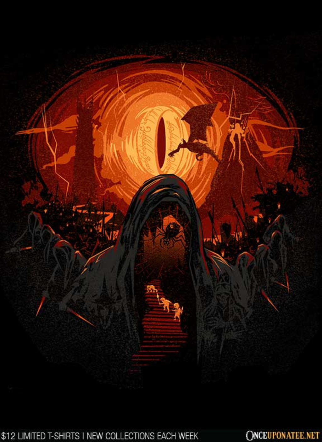Once Upon a Tee: Hobbit's Nightmare