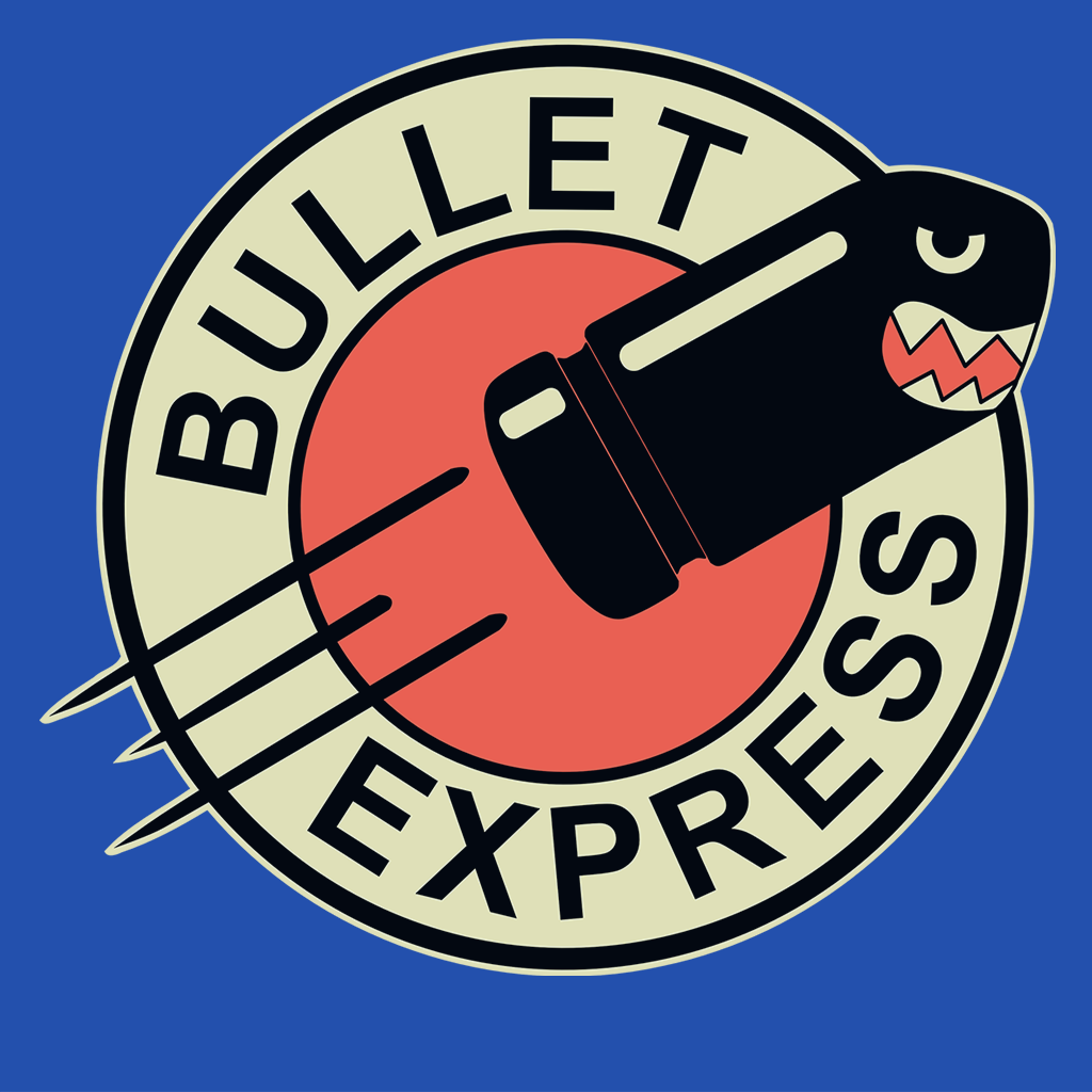 Pop-Up Tee: Bullet Express