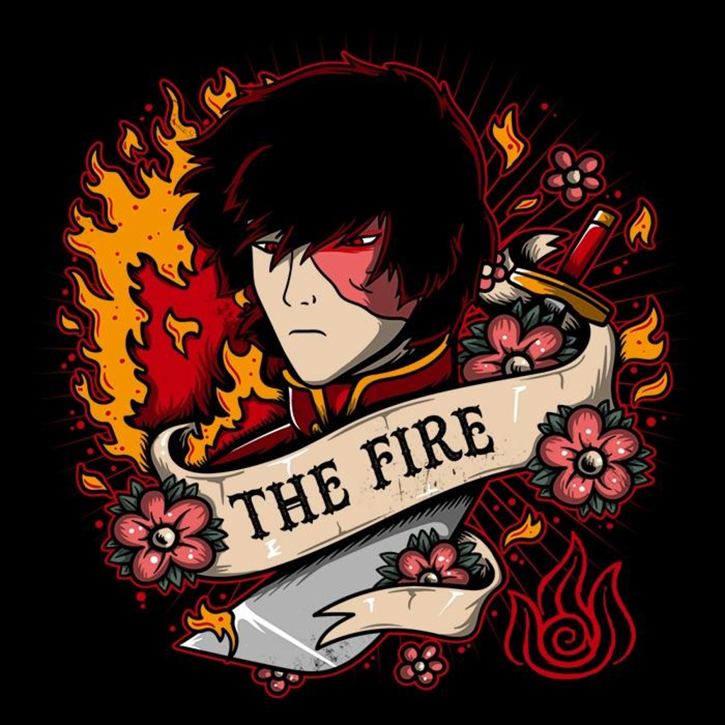 Once Upon a Tee: Fire Tattoo