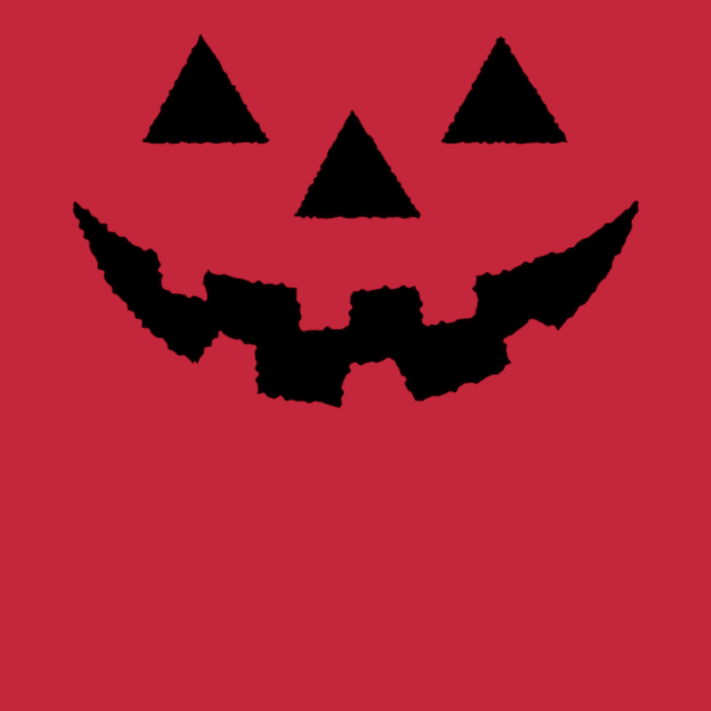 NeatoShop: Jack O' Lantern Pumpkin Face BLACK Halloween Costume T-Shirt