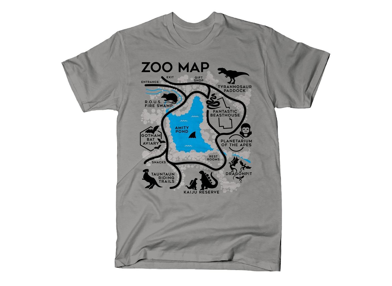 SnorgTees: Zoo Map