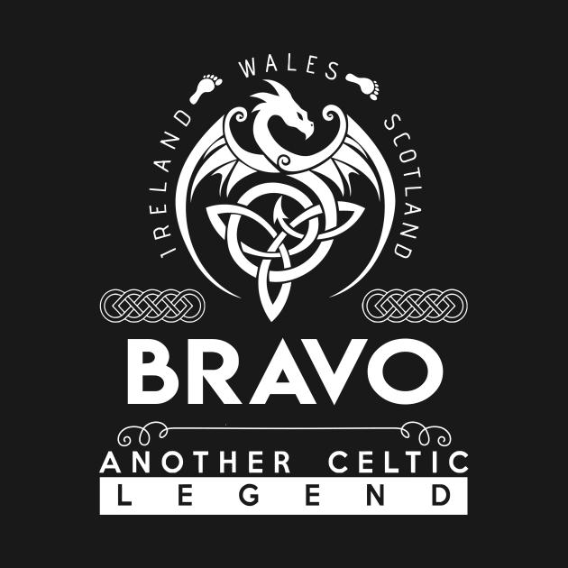 TeePublic: Bravo Name T Shirt - Another Celtic Legend Bravo Dragon Gift Item