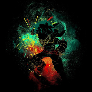 Once Upon a Tee: Deku Art