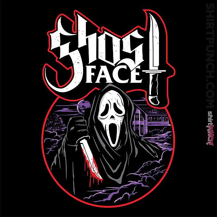 ShirtPunch: My Scary Mask