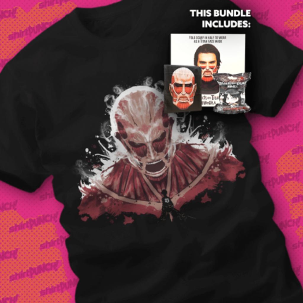 ShirtPunch: Titan's Get Cold Too You Know Bundle
