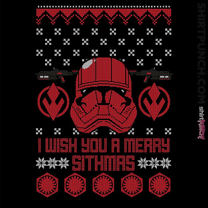 ShirtPunch: Sith Christmas Deal