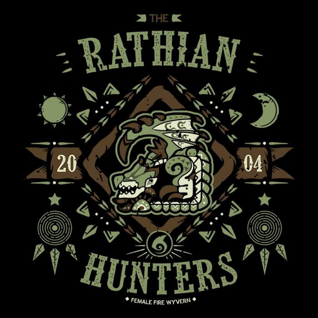 Once Upon a Tee: The Rathian Hunters