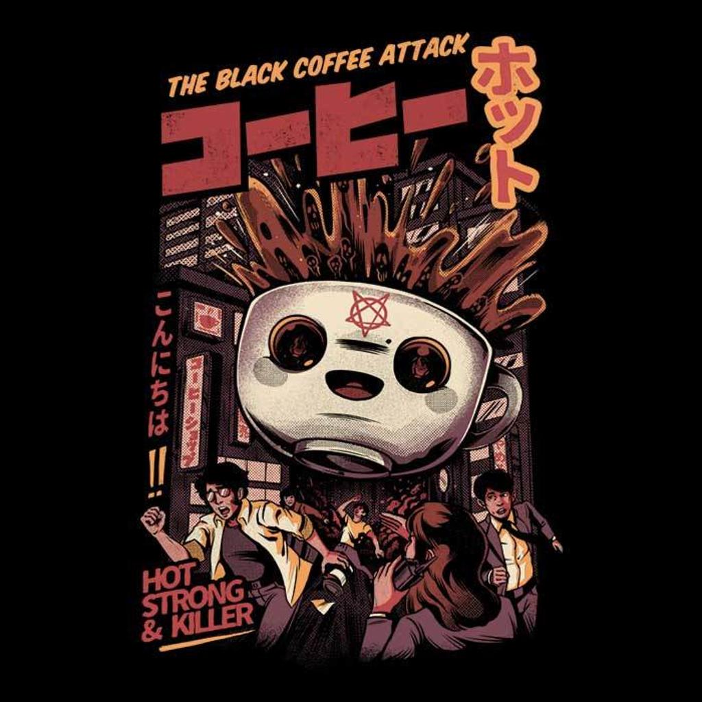 Once Upon a Tee: Black Magic Coffee